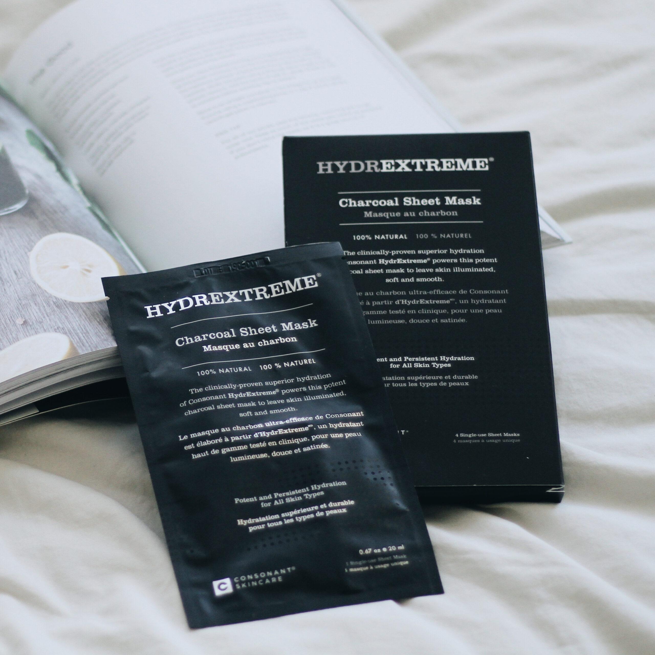 Consonant HydrExtreme 高效保濕竹炭面膜 (一片裝) $85